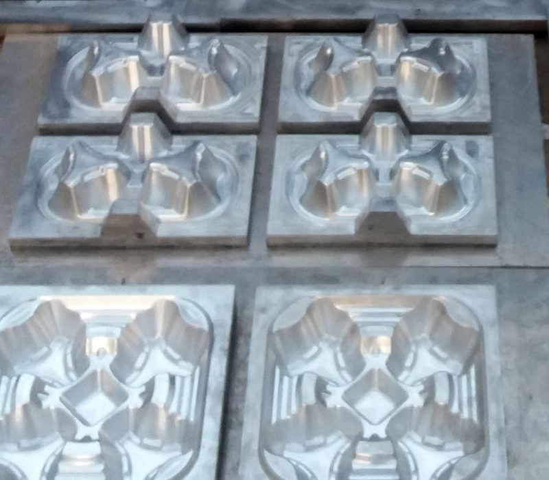 cup tray mould